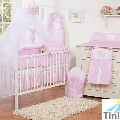 lit bébé rose pour fille
