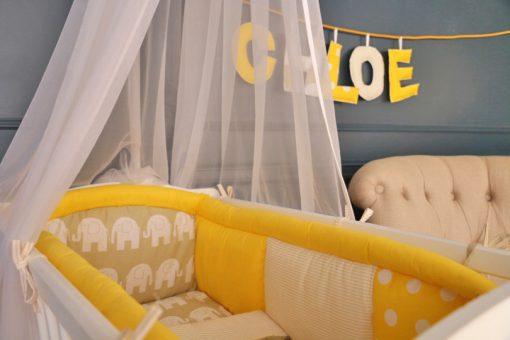 berceau bébé pour chambre de fille