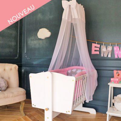 berceau bébé rose pour fille