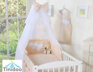 parure bébé beige