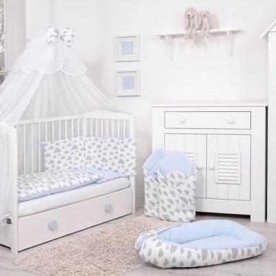 chambre bébé garçon sur le thème nuage