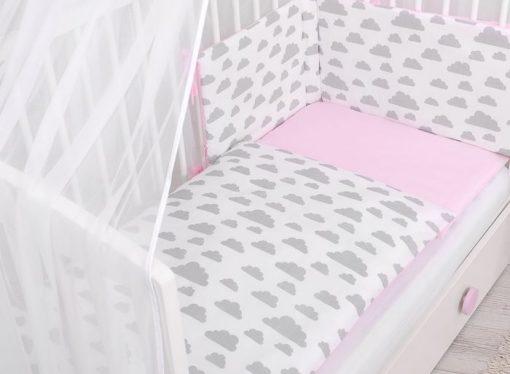 parure de lit thème nuage pour fille