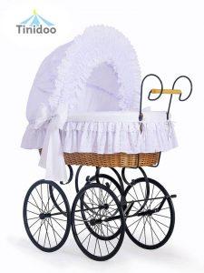 berceau bébé rétro-vintage