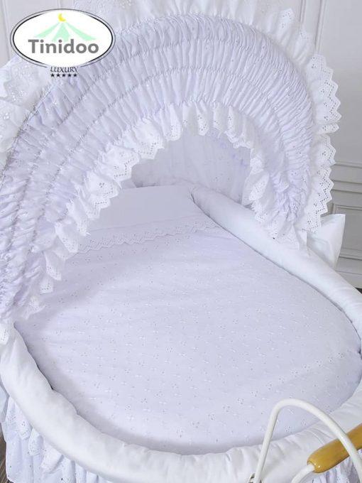parure de lit pour berceau rétro