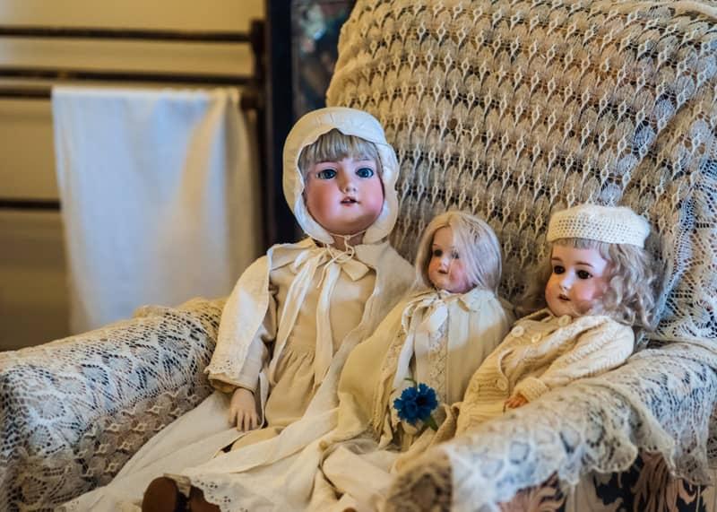 poupée bébé de style vintage