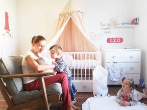 lit bébé à barreaux complet