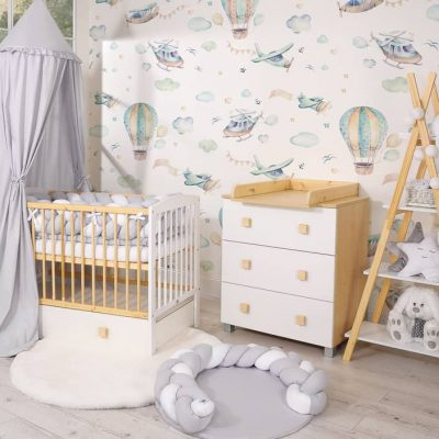 chambre bébé couleurs douce