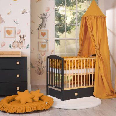 chambre bébé couleur or-miel