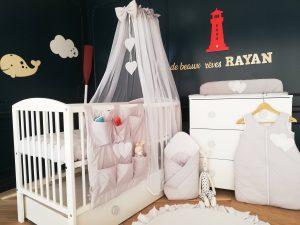 chambre bébé décoration océan