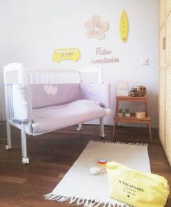 lit bébé cododo blanc