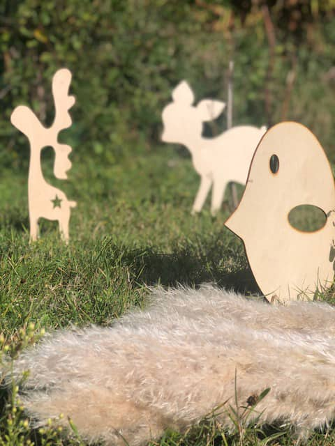 Décoration murale enfant sur le thème nature
